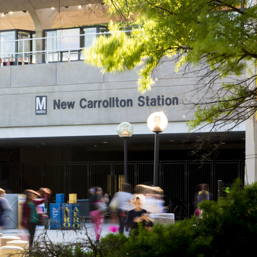 New Carrollton Metro